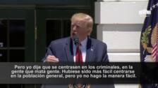 """Trump dice que las deportaciones son un """"éxito"""""""