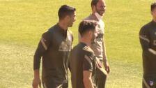 Giménez y Lodi vuelven a entrenar con el grupo