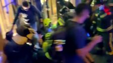 Barcelona vive su quinta noche de disturbios