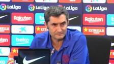 """Valverde: """"Si Messi no está al 100 % no arriesgaremos"""""""