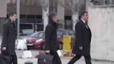 El exdirector de los Mossos llega a la Audiencia Nacional
