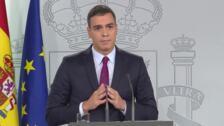 """Sánchez exige a Torra que condene """"sin excusas"""" el uso de la violencia"""