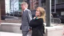 Condenada a 14 días de prisión la actriz Felicity Huffman