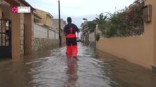 El Consorcio de Bomberos interviene por las lluvias en Castellón