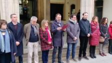 El alcalde de Terrasa pronuncia un discurso contra el machismo