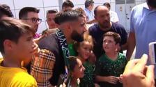 Nabit Fekir ya está en Sevilla para firmar por el Betis