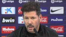 """Simeone: """"Tenemos la necesidad de mejorar en Liga"""""""