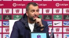 """Diego Martínez: """"Hay que seguir creciendo, 17 puntos no te garantizan nada"""""""