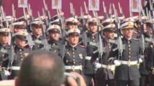 Los Reyes presiden el Día de la Fiesta Nacional