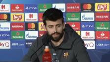 Piqué elige a Messi por delante de Maradona