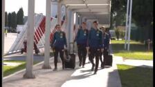 La sub-21 ya está en Montenegro con Ansu Fati como gran atracción
