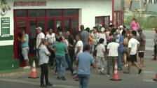 Colas interminables en Cuba para poder echar gasolina