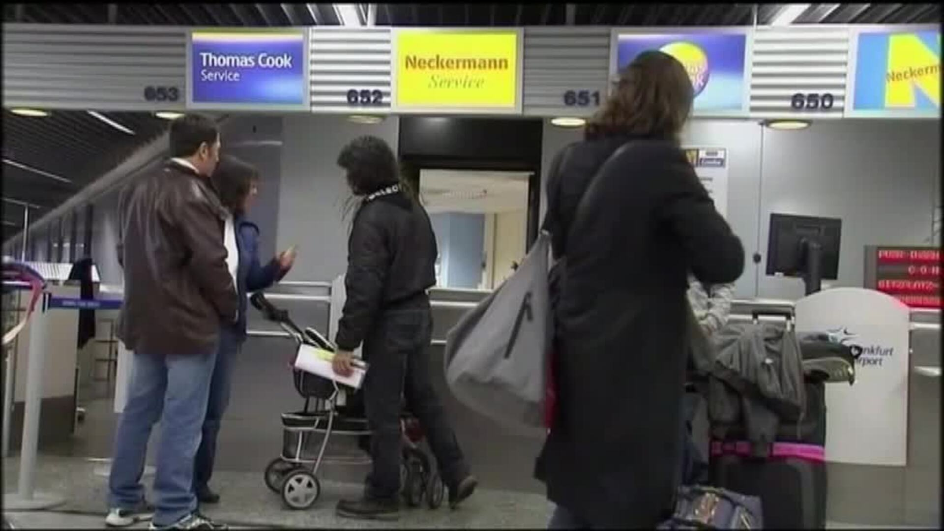 600 mil turistas atrapados por la quiebra de Thomas Cook