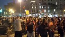 Empieza la manifestación de Barcelona convocada por los CDR