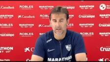 """Lopetegui: """"Tenemos que dar nuestra mejor versión para poder competir con el Espanyol"""""""