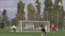 El Real Madrid se prepara para el partido contra el PSG