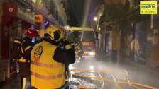 Registrado un incendio en una vivienda en Lavapiés