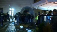 Incidentes de los 'hooligans' de la selección inglesa en Praga por la elevada ingesta de alcohol