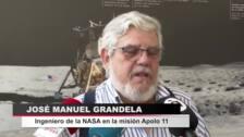Una estación de la NASA en Madrid contribuyó al éxito de Apolo 11