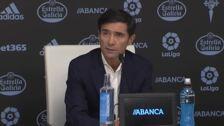 """Marcelino: """"Que haya ganado el Celta no me parece para nada injusto"""""""