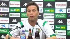 """Rubi sobre el equipo: """"La actitud es muy buena, están muy receptivos"""""""