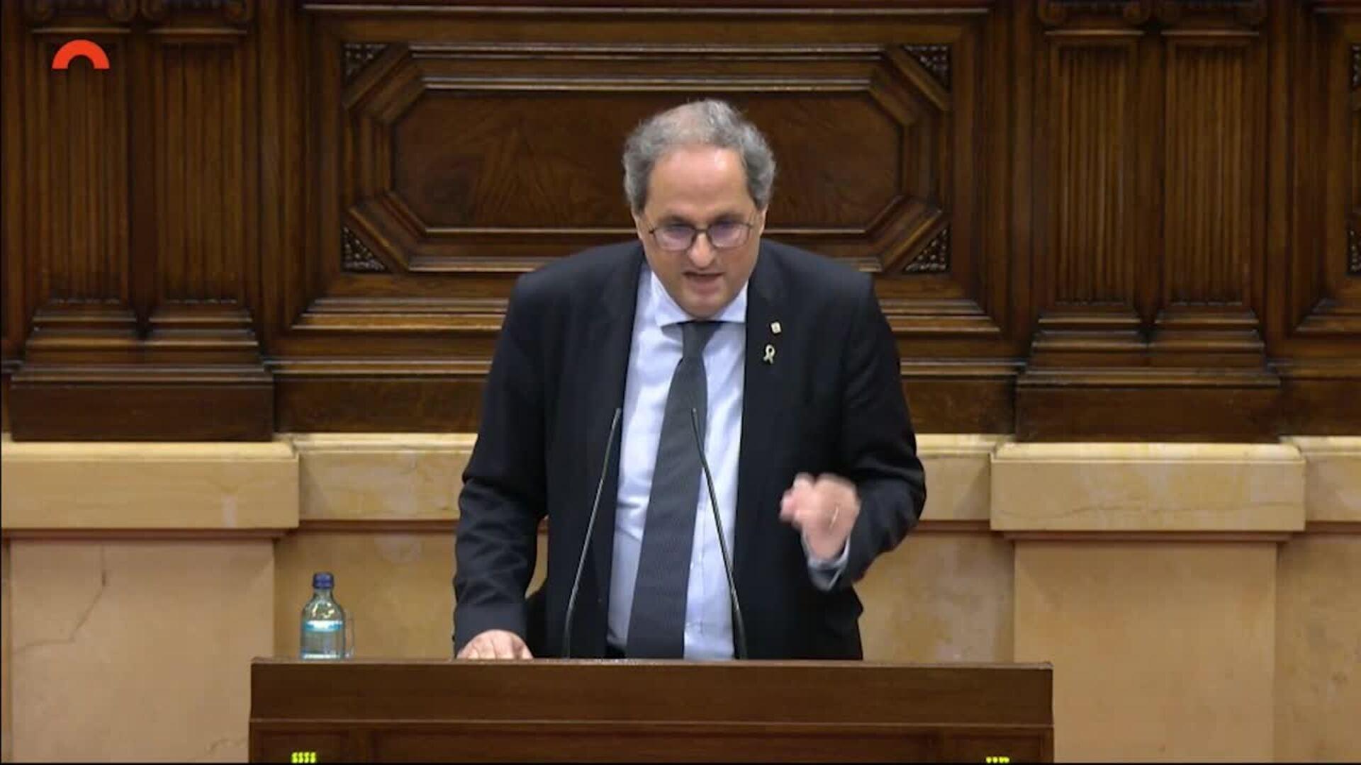 Vídeo] El Parlament catalán lo dice alto y claro: Catalunya es «republicana» y la Monarquía «delincuente» - Las Repúblicas