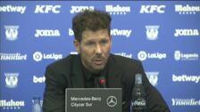 """Simeone: """"Socialmente, moralmente y emocionalmente somos el equipo del pueblo todavía"""""""