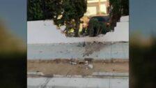 Un menor de 13 años empotra el coche de su padre contra un colegio en Marbella