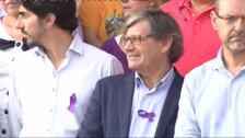 Concentración en repulsa por el último crimen de violencia machista en Mallorca