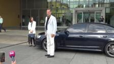Felipe VI y la reina Letizia visitan al rey Juan Carlos