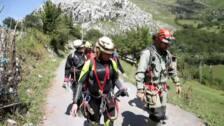 Final feliz en el rescate de las tres espeleólogas catalanas atrapadas en Coventosa, Cantabria
