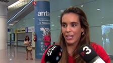 """Ona Carbonell regresa """"orgullosa"""" con sus tres medallas obtenidas en el Mundial de Gwangju"""