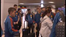 La Selección sub-21 parte a Montenegro