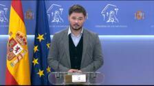 """ERC dice que necesita """"un contexto favorable"""" para negociar Presupuestos"""