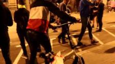 Saqueos en Barcelona coincidiendo con las concentraciones pacíficas