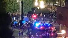 Disturbios en capitales de provincia de Cataluña