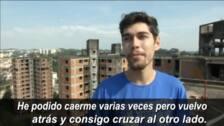 El equilibrismo por los edificios abandonados se convierte en tendencia en Brasil