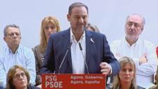 """Ábalos afirma que """"hoy lo de Cataluña es un problema de orden público"""""""
