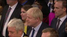 Boris Johnson utiliza el discurso de la reina en la apertura del curso parlamentario para hacer campaña