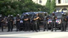 Refuerzo de la seguridad en Cataluña por la publicación de la sentencia del 'procés'