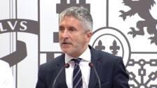 """Marlaska reconoce que radicales """"infiltrados"""" intentarán boicotear la cumbre del G-7 en Biarritz"""