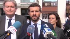 Casado informará a Von der Leyen de la situación en Cataluña