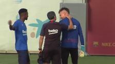 El Barça ultima detalles de cara al partido contra el Granada CF