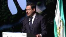 Moreno buscará que Andalucía sea líder en sostenibilidad