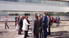 El Rey Felipe VI y Reyes Maroto visitan la planta de PSA en Zaragoza