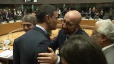 Pedro Sánchez se encuentra en Bruselas