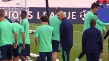 El Real Madrid ultíma sus preparación para el duelo contra el PSG en Champions