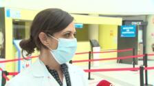 Subdirectora de Enfermería del Puerta de Hierro explica circuito de vacunación