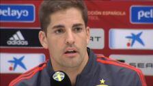 """Robert Moreno: """"La mejor forma de evitar el caos es ir ganando 0-3"""""""