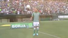 Presentación de Borja Iglesias como nuevo jugador del Betis